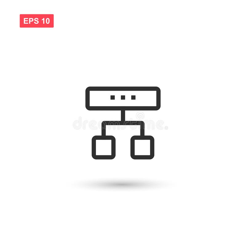 Diagram icon vector design isolated 6. Eps10 stock illustration