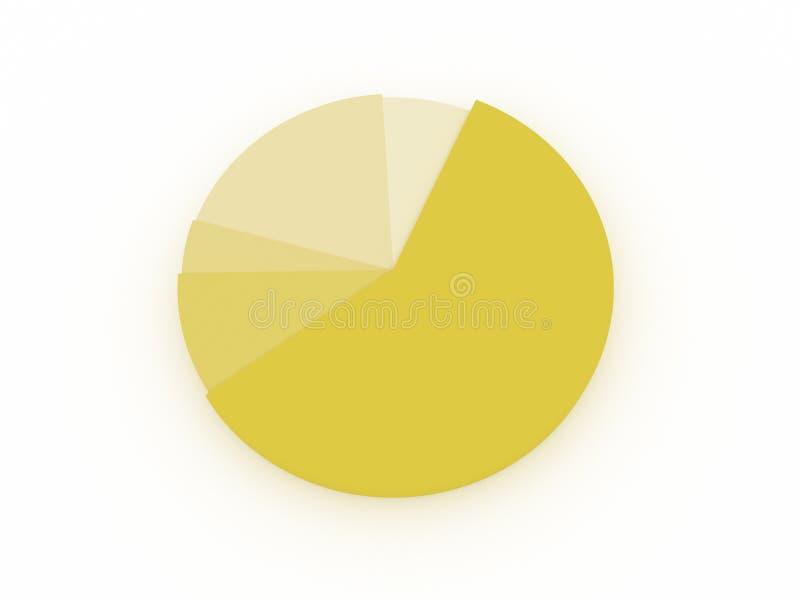 Diagram stock afbeelding