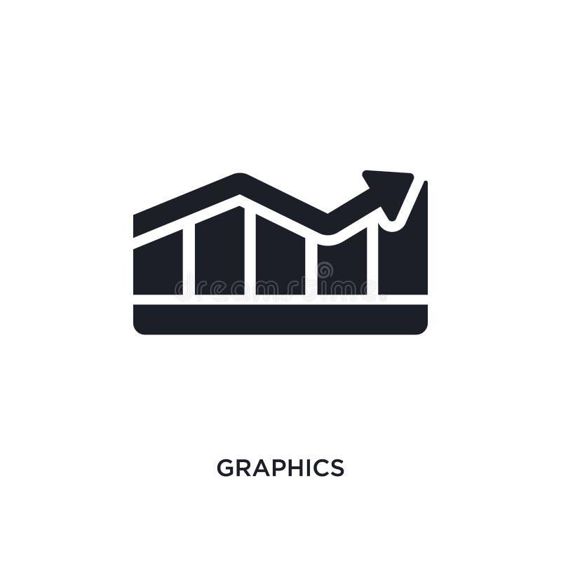 diagram isolerad symbol enkel beståndsdelillustration från framgångbegreppssymboler för logotecken för diagram redigerbar design  vektor illustrationer