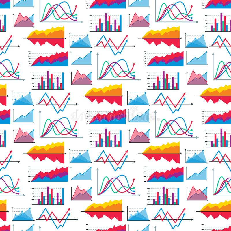 Diagram mapy wykresu elementów spływowego prześcieradła dane szablonu wektorowe biznesowe infographic strzała i okrąg rozwijają s royalty ilustracja