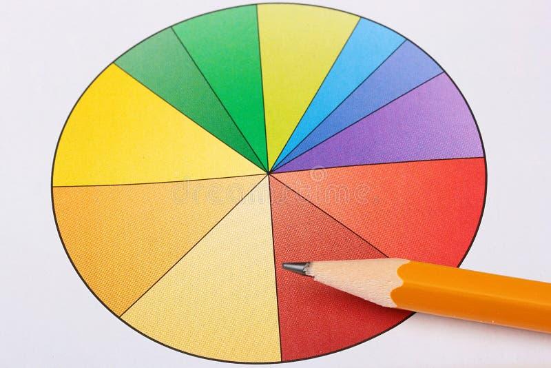 Diagrama imagen de archivo libre de regalías