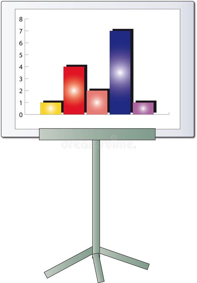 Diagrama ilustração royalty free