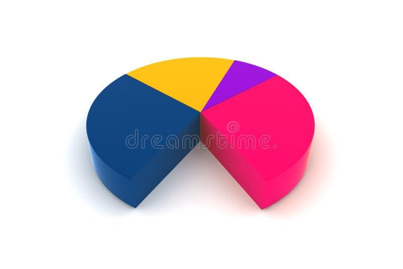 Diagrama fotografía de archivo libre de regalías