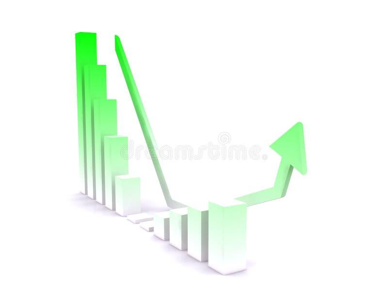 Diagrama stock de ilustración