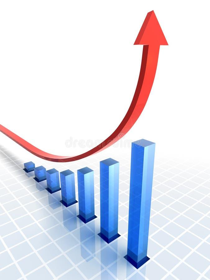 Diagrama abstrato fotos de stock royalty free