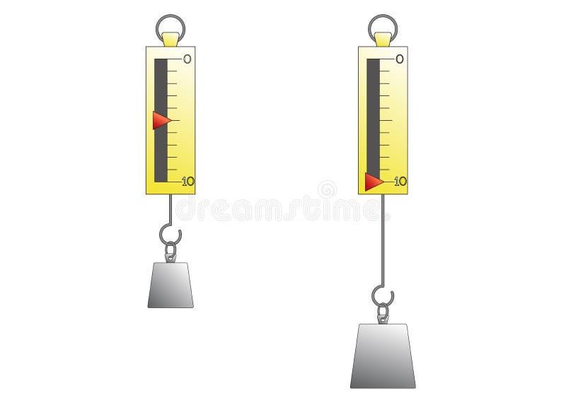 Diagrama da quantidade do vetor para a arte foto de stock