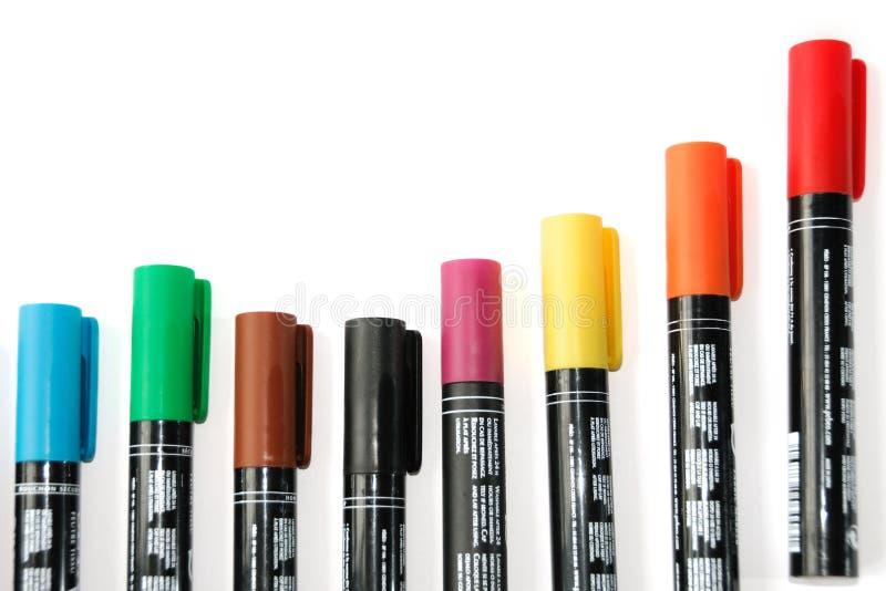 Diagrama del color imagen de archivo libre de regalías
