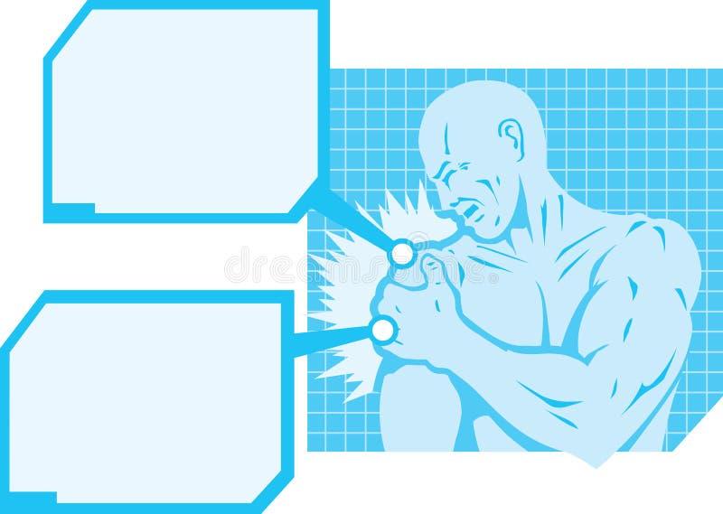 Diagrama Del Dolor Del Hombro Ilustración del Vector - Ilustración ...