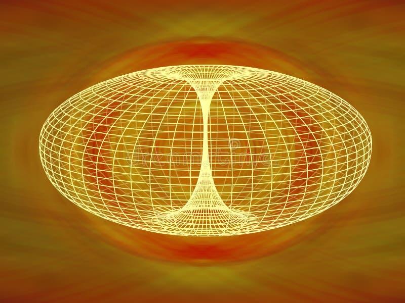 Diagrama del Wormhole libre illustration