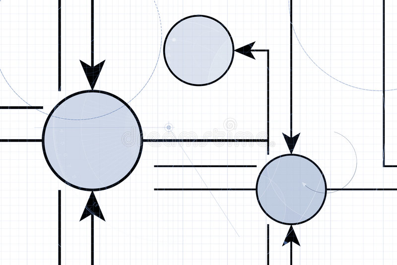Diagrama técnico libre illustration