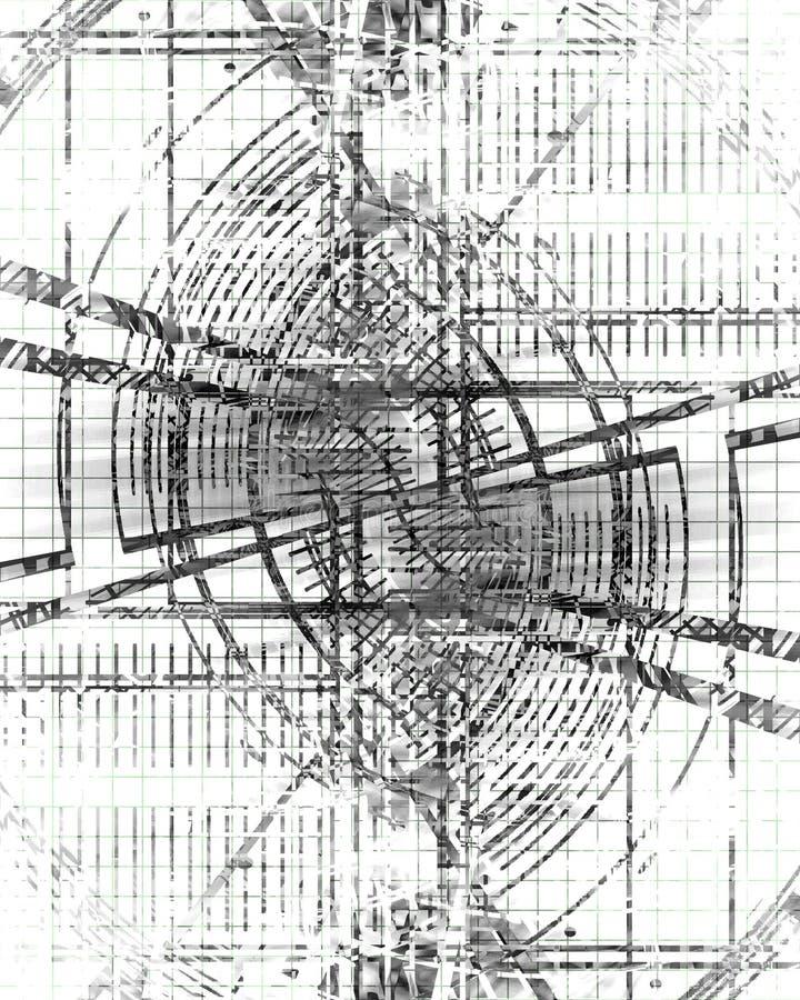 Diagramas esquemáticos ilustração do vetor