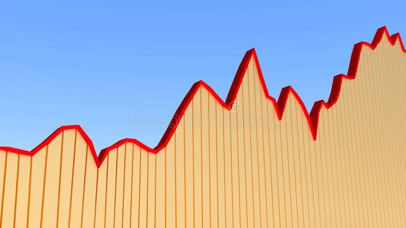 Download Diagramdiagram stock illustrationer. Illustration av konkurrens - 27287244