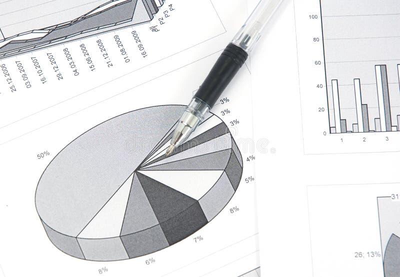 Diagramm lizenzfreie stockfotos