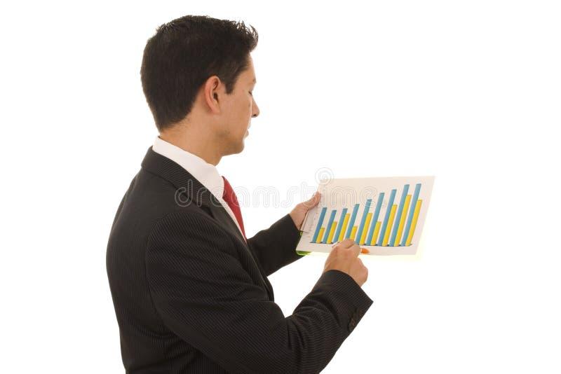 Diagramm stockfoto