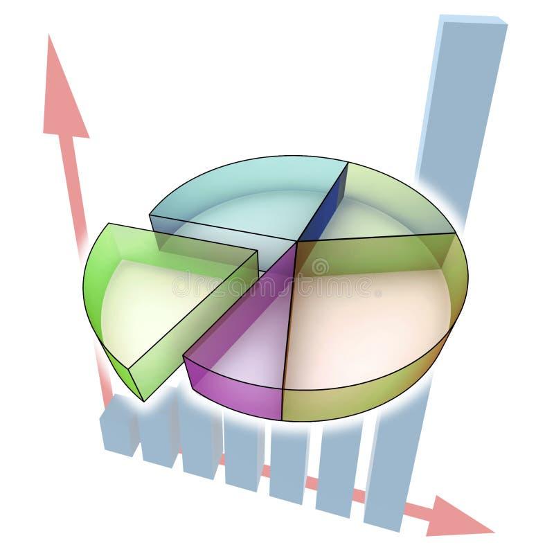 Diagramm - Abbildung lizenzfreie abbildung