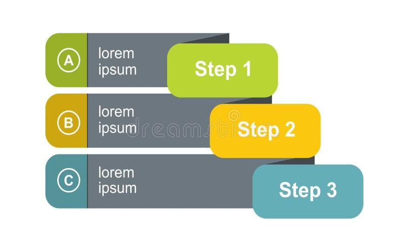 Diagramm der Entwicklung vektor abbildung