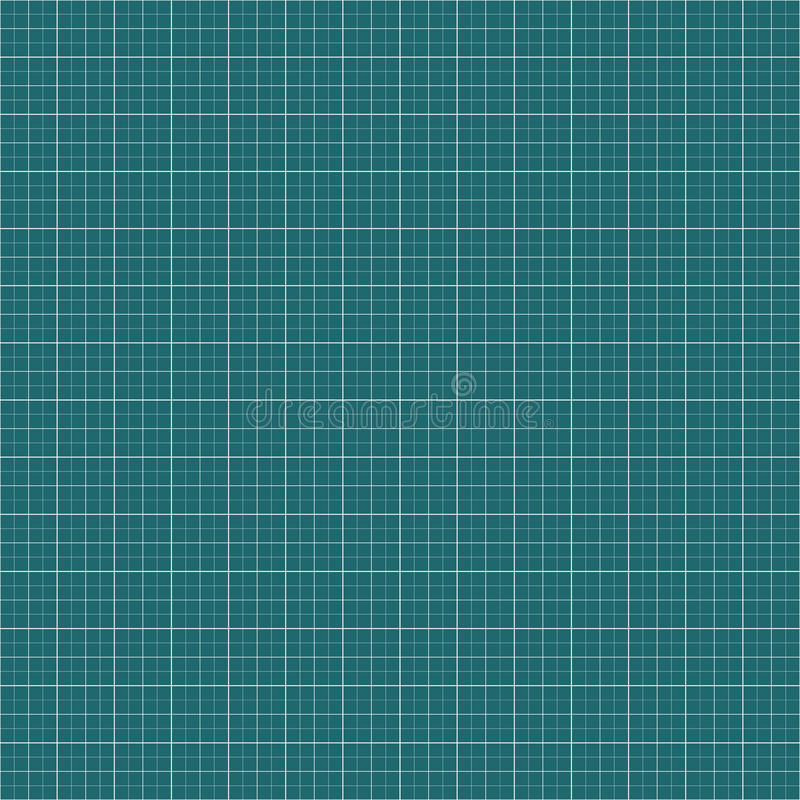 Diagramm, Millimeterpapierhintergrund Leeres Gitter, Maschenhintergrund vektor abbildung