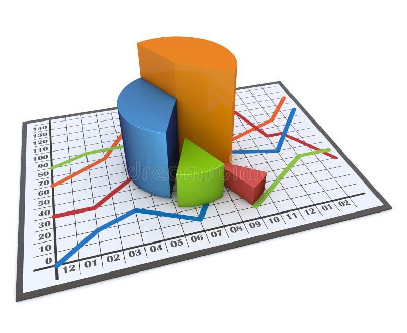 Download Diagramm und Diagramme stock abbildung. Illustration von korporativ - 26374332