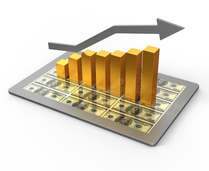 Download Diagramm und Diagramme stock abbildung. Illustration von dollar - 26374600