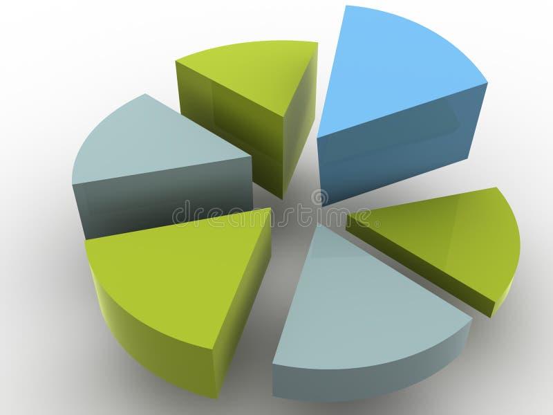 Diagramma. illustrazione vettoriale