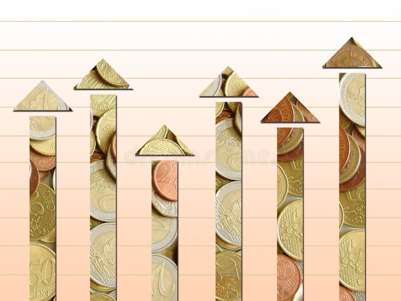 Diagramma dei cambiamenti royalty illustrazione gratis