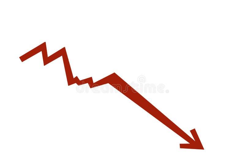 Diagramma del mercato azionario royalty illustrazione gratis