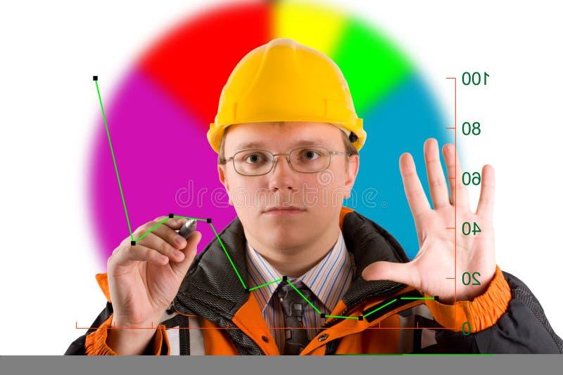 Diagramma dell'illustrazione fotografia stock libera da diritti