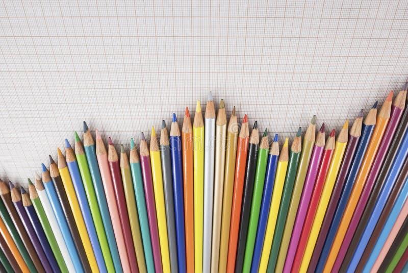 Diagramma Delle Matite Fotografia Stock