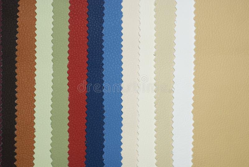 Diagramma di colore di cuoio immagini stock