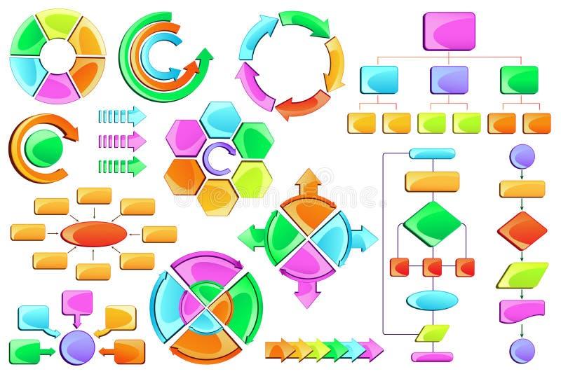 Diagramma di flusso royalty illustrazione gratis