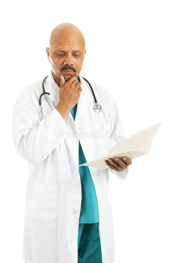 Diagramma paziente del dottore Reviews immagini stock libere da diritti