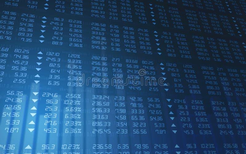 diagrammarknadsmateriel stock illustrationer