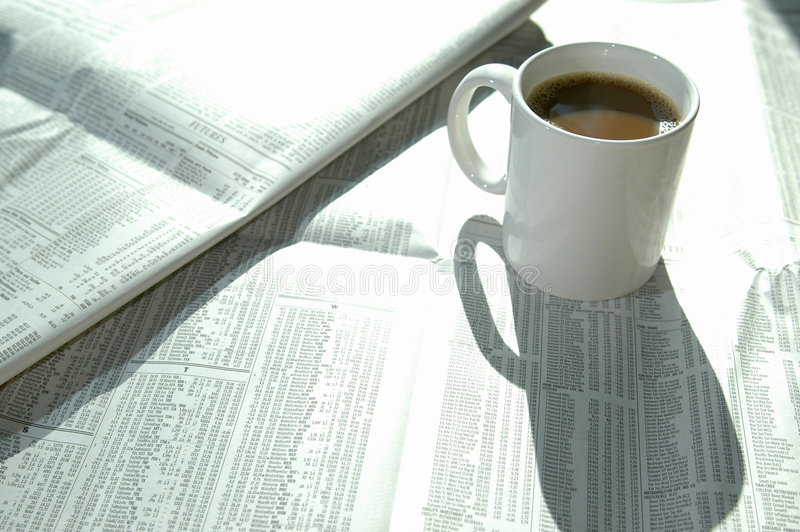 Diagramme 2 de café et de barre photos stock