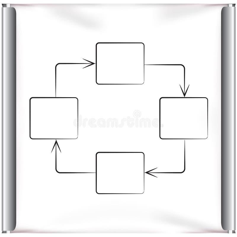Diagramme illustration de vecteur
