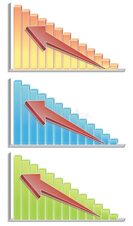 Diagramme illustration libre de droits