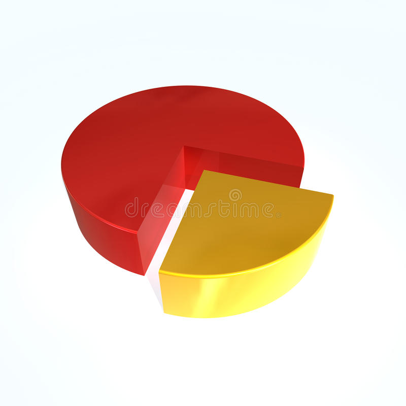 Diagramme circulaire  illustration de vecteur