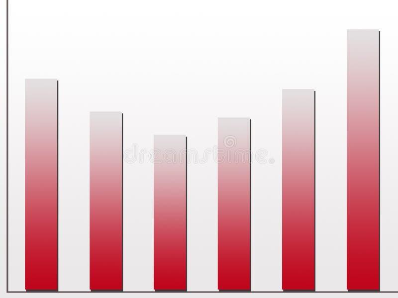 Download Diagramme d'accroissement illustration stock. Illustration du échelle - 83005