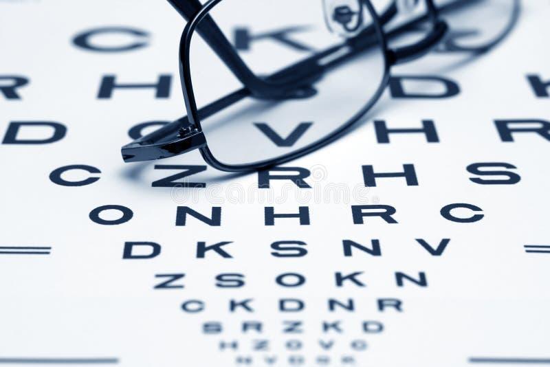 Diagramme d'oeil images libres de droits
