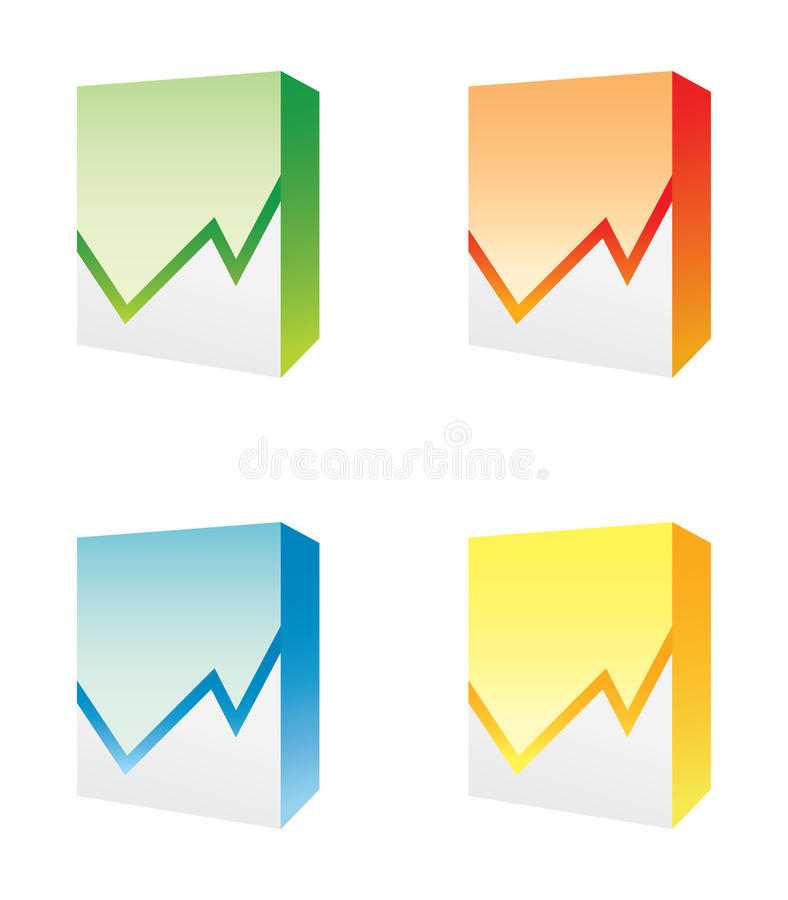 diagramme de cadres illustration stock