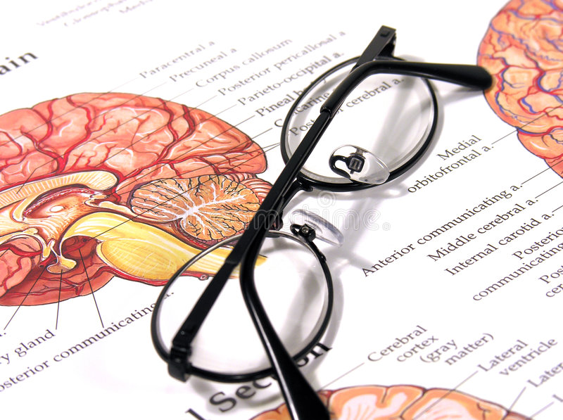 Diagramme et glaces médicaux image stock