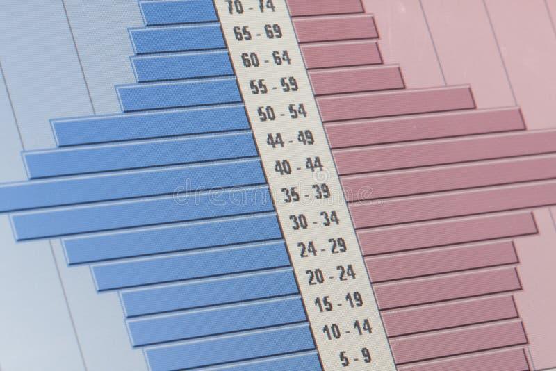 Diagrammes de données images stock