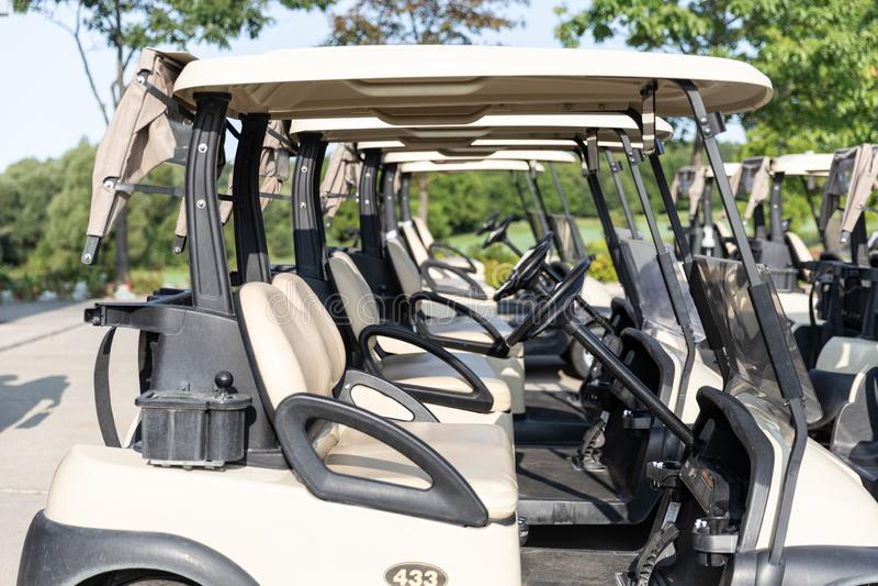 Diagrammes de golf photos libres de droits
