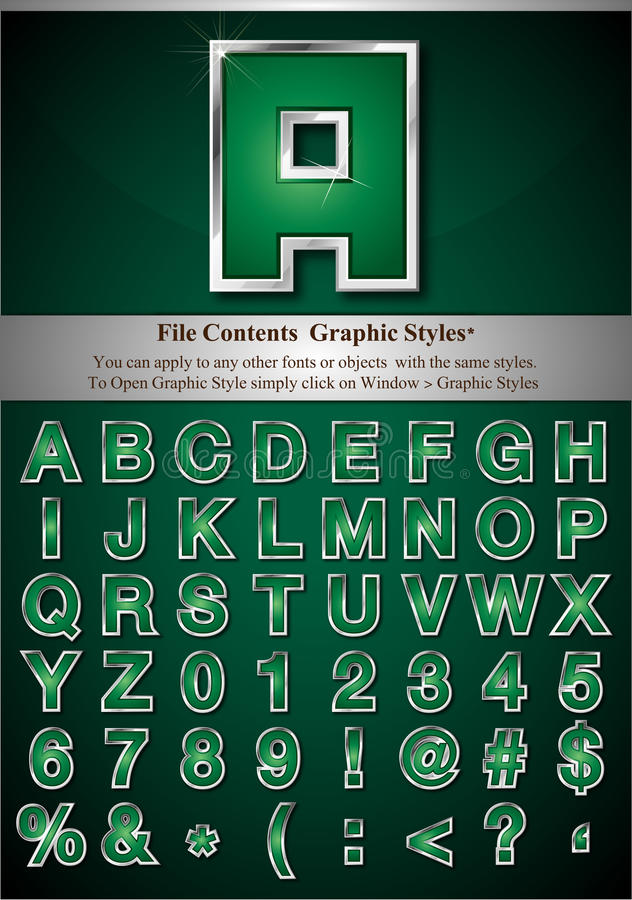 Download Diagrammet letters stil vektor illustrationer. Illustration av överskrift - 19787222