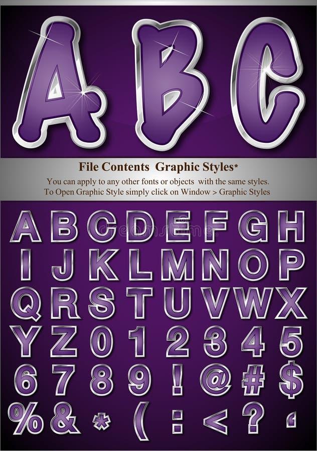 Download Diagrammet letters stil vektor illustrationer. Illustration av meddelande - 19787231