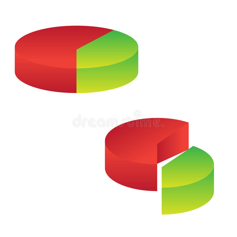 Diagrammikone stock abbildung