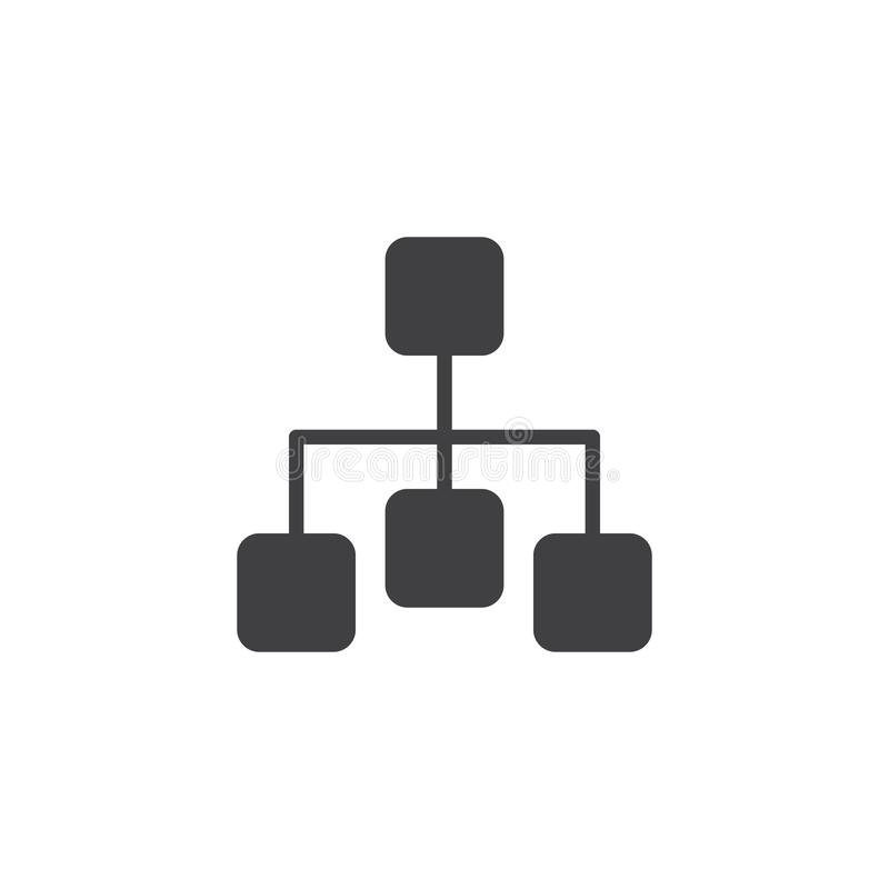 Diagrammvektorikone lizenzfreie abbildung