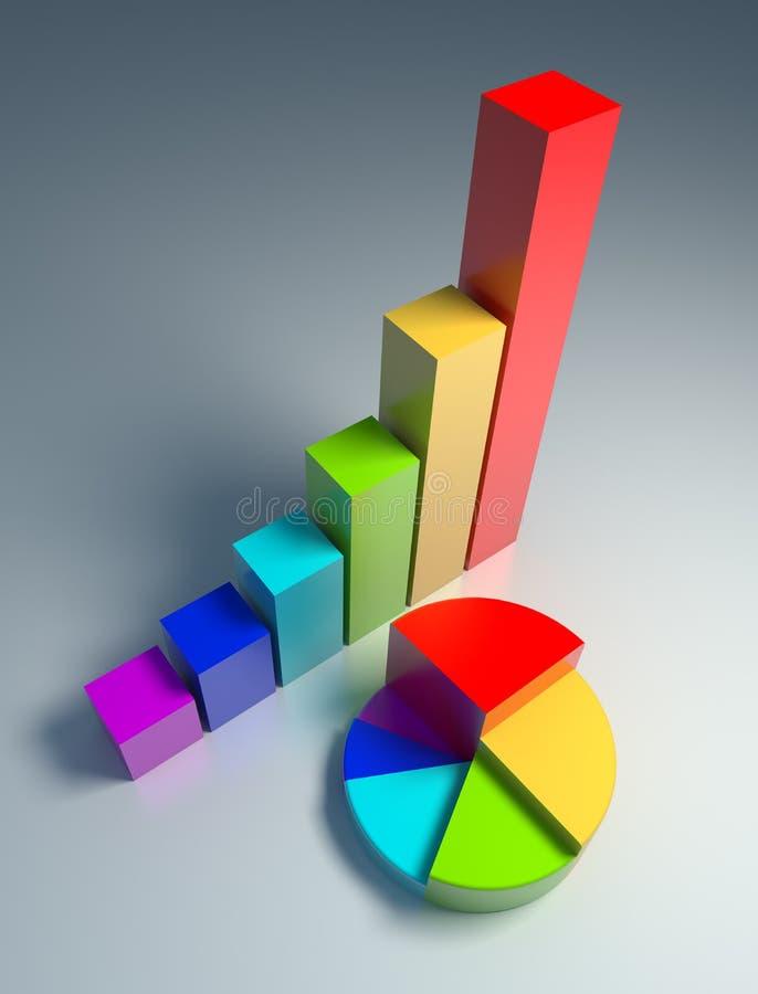 Download Diagrams stock illustration. Image of company, economy - 7357527
