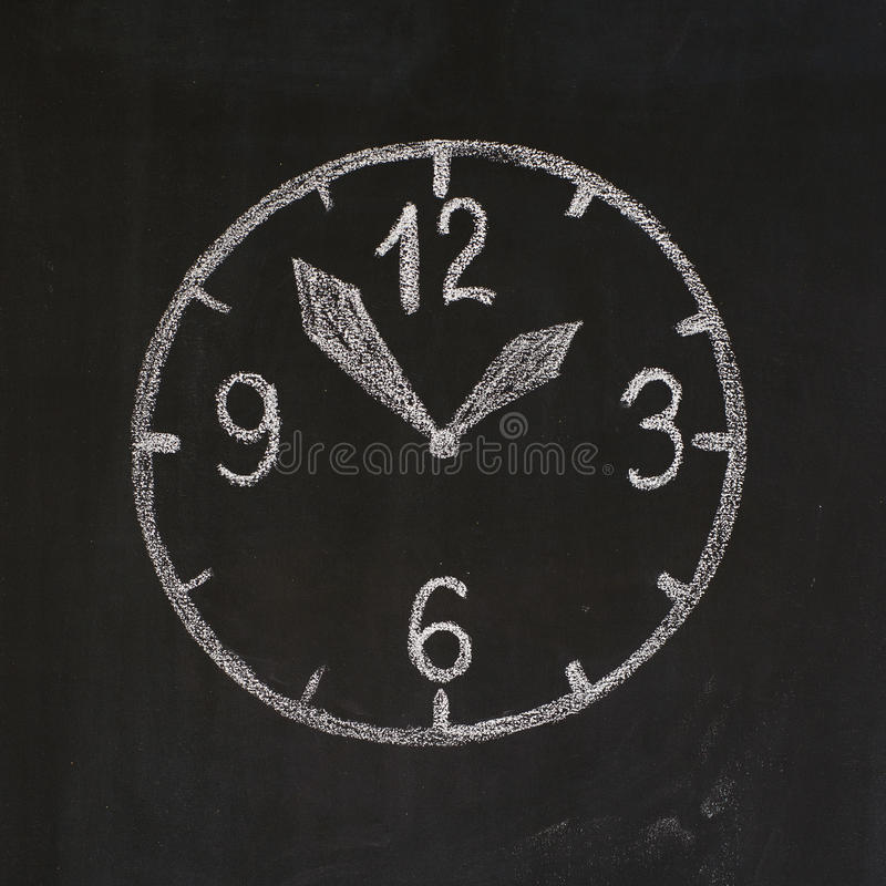 Dial. The dial with digits, minute-hand and hour-hand stock images