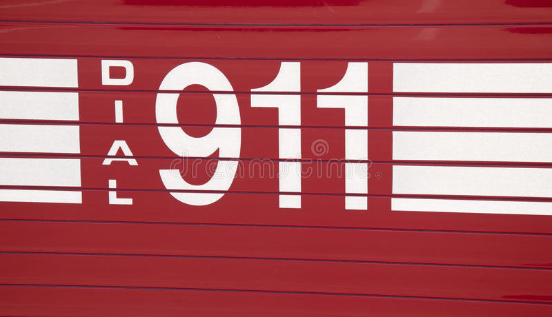 Download Dial 911 - decal stock photo. Image of responder, fire - 27121902