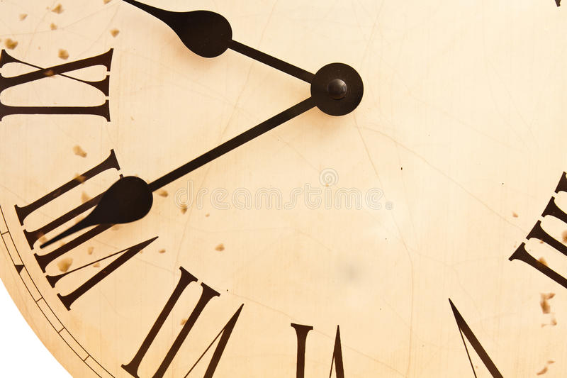 Dial clock royalty free stock image